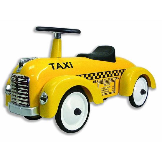 Taxi gåbil metall inspirera mera barn inspiraiton inredning blogg inredningsblogg