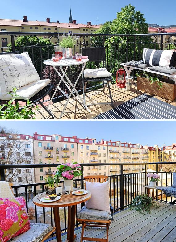 balcony inspirera mera inredning inredningsblogg balkong inspiration inspiration