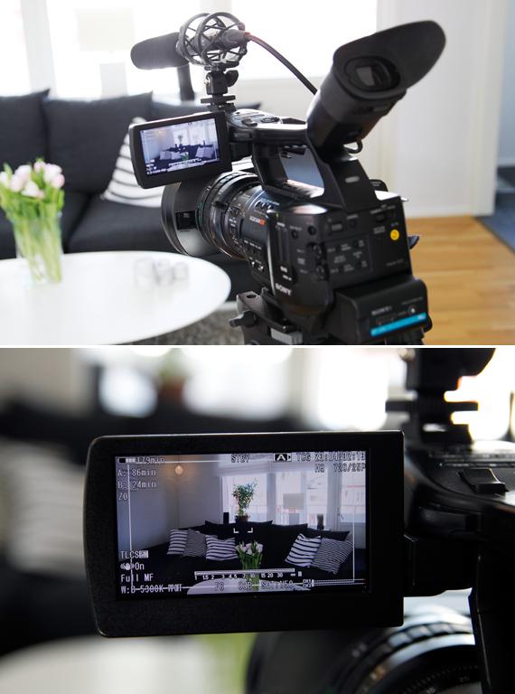 inspirera mera tvinspelning tvteam tv inredningsreportage reportage inredning