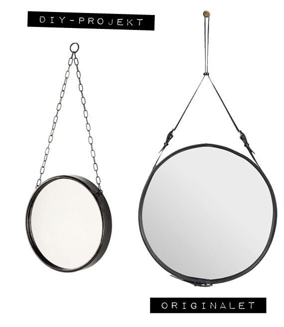 Inspirera mera diy pyssel adnet mirror gubi