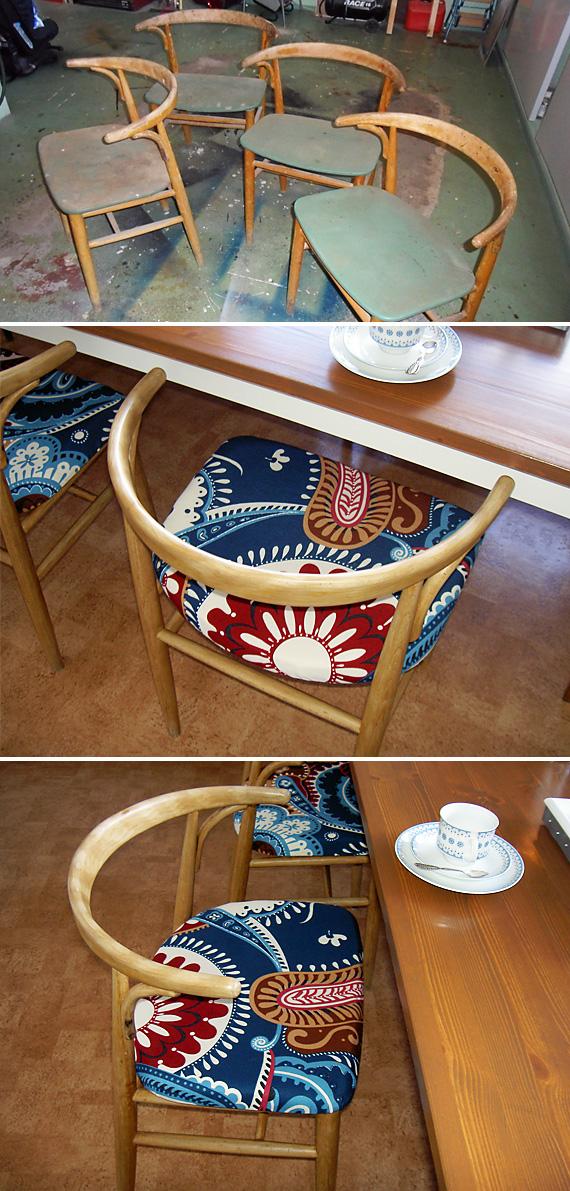inspirera mera inspireramera renovering stol Carmencita