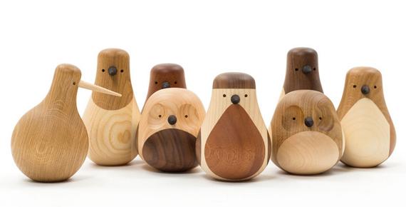 Fåglar trä inspirera mera träfigurer discipline returned